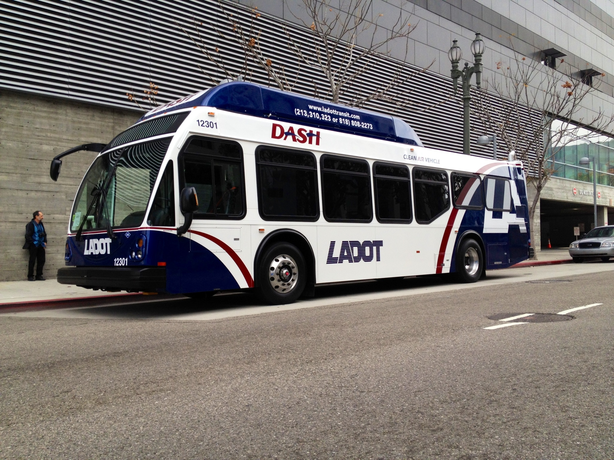 ladot rolls out new dash bus | the ones