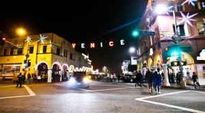 Venice Paparazzi venice sign pacific and windward