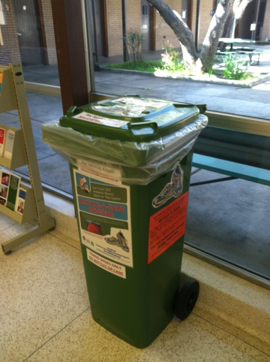 Rosendahl Announces Running Shoes Recycle Bin