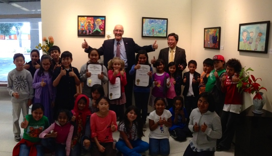 Kids Healthy City Art Contest Awards 4/25/13